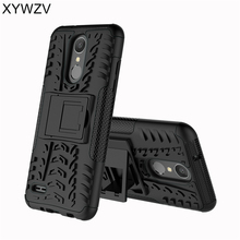 SFor Coque LG K8 2018 מקרה עמיד הלם גומי קשיח סיליקון טלפון מקרה עבור LG K8 2018 כיסוי עבור LG Aristo 2 טלפון תיק מעטפת XYWZV