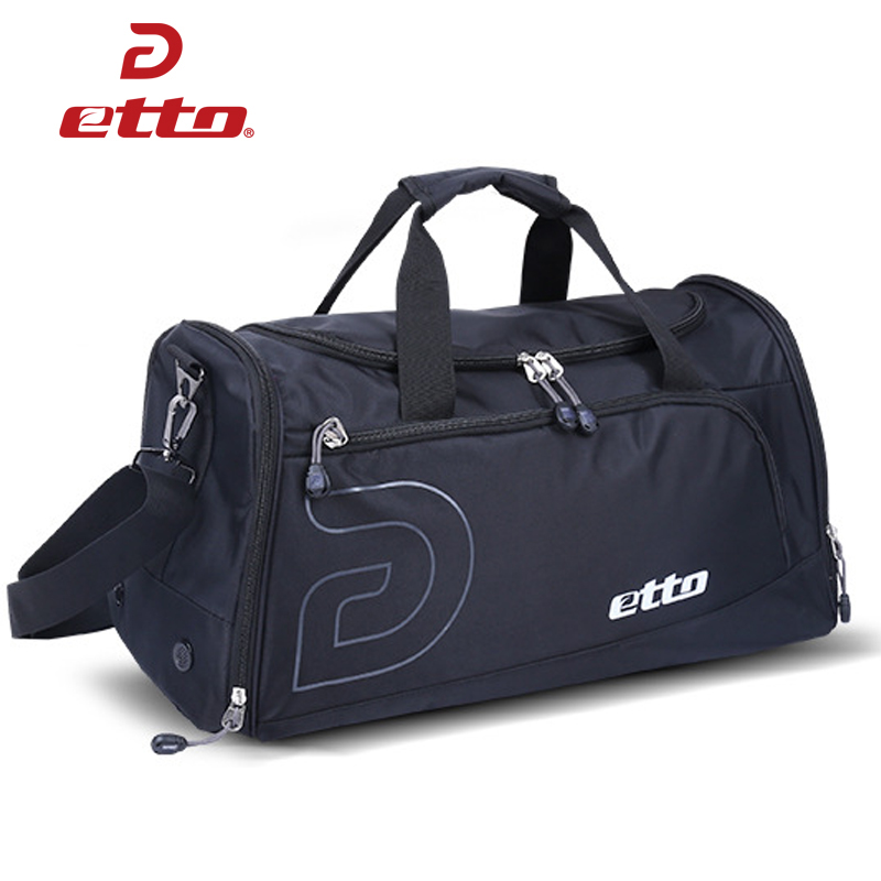 ETTO Quality Soccer Volleyball Basketball Team Training Bag Men Women Large Sports Bag Training Exercise Athlete Bags HAB312