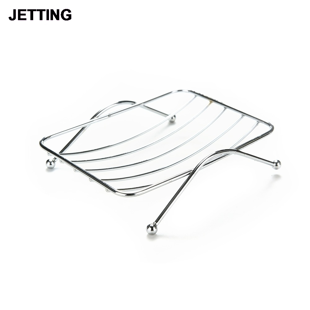Stainless Steel Soap Dishes Rust-resistant Saver Basket For Bathroom Toilet Shower Soap Holder Case Brand Bathroom Accessories