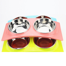 Colorful Cats Feeding Bowl