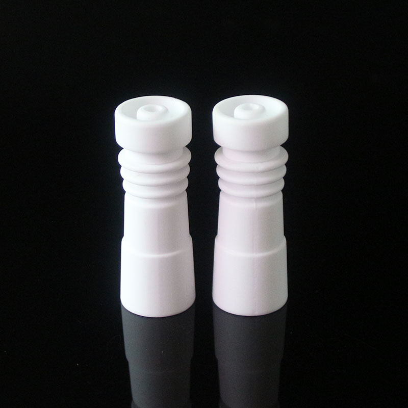 cheapest Can open 10mm 14mm 18mm female Ceramic Nail for Smoking Pipes glass Hookahs water pipe vs Quartz nail Titanium nail in Tobacco Pipes Accessories from Home Garden