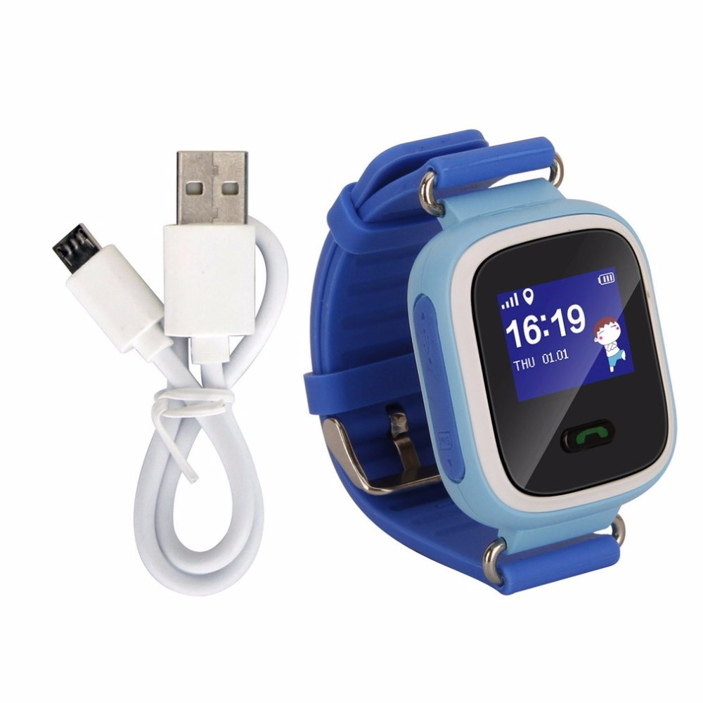 Child Smart Watch GSM GPRS support SOS Call APP Control for Kid Baby Safe Anti-Lost Monitor 3