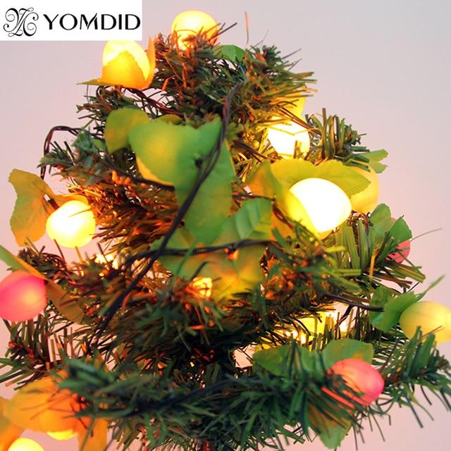 free shipping 9 m 220v christmas fruit decoration lights new year enfeites de natal beautiful noel - Noel Christmas Store