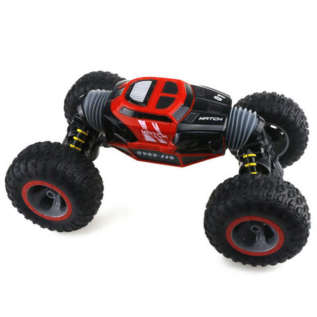 RC Car 2.4Ghz 1/16 4WD Double-Sided Remote Control Car Amphibious Vehicle Stunt Car RC Stunt Car With Remote Controller For Fun