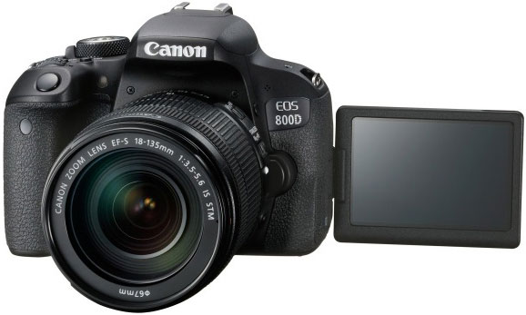 Canon 800D T7i DSLR Camera Body & EFS 18-135mm F3.5-5.6 IS S