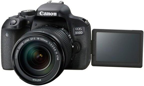 Canon 800D T7i Corpo Della Fotocamera DSLR & EFS 18-135mm F3.5-5.6 IS STM Lens