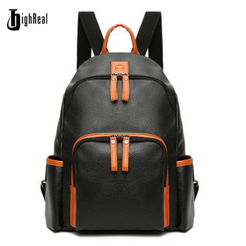 HIGHREAL Women Backpacks Student School Bags Girl Backpacks Female Casual Travel Bag Ladies mochila feminina J63