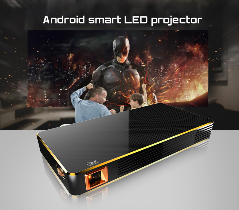 BYINTEK MD322 Portable Smart Home Theater Pocket Android Wifi projector USB HD 1080P HDMI Mini LED Projector