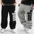 2016 Eminem Hip Hop Danza Pantalones Sueltos Hombres Pantalones Deportivos Pantalones Hombre Tallas grandes Corredores de Gran Tamaño Ropa de Invierno Y Primavera