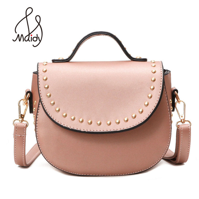 Handbags Bags Designer Stud Crossbody Bag Cute Purse Shoulder Strap Messenger Saddle Rivet Clutch Women