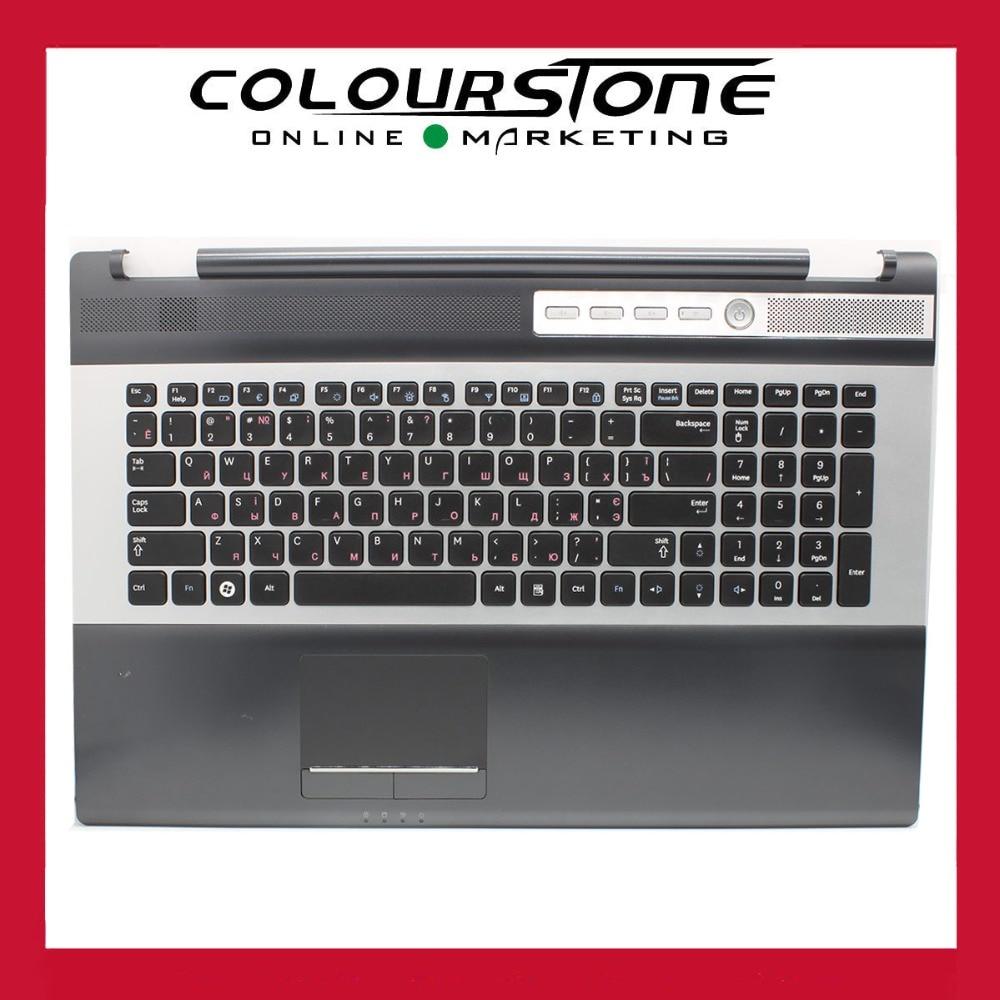 NEW For  Samsung RF710 RF711 RF712 NP-RF710 NP-RF711 NP-RF712 Palmrest RU Russia Keyboard 9Z.N6ASN.00V neworig keyboard bezel palmrest cover lenovo thinkpad t540p w54 touchpad without fingerprint 04x5544