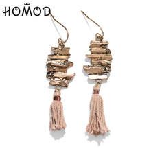 HOMOD 2017 Dangle Drop Tassel Earrings Vintage Maya Bohemian for women Gifts Jewelry