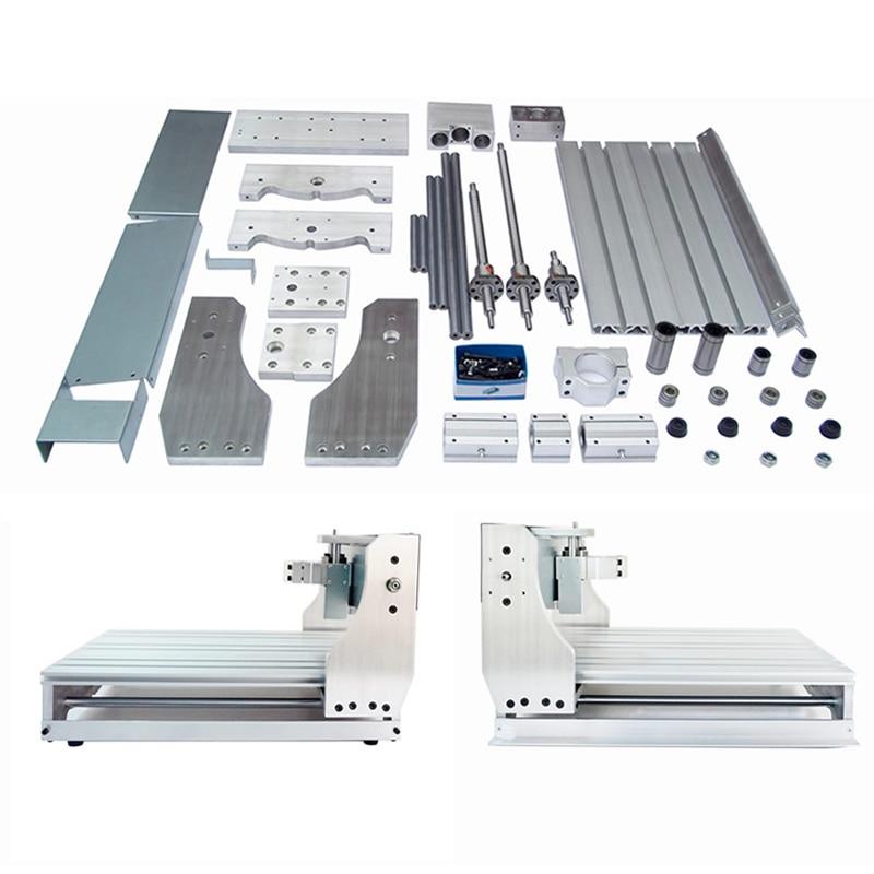 Mini CNC Engraving Machine 3040 Lathe Bed Kit Ball Screw DIY Frame For Milling Machine