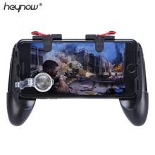 HEYNOW contrôleur de jeu Poignée titulaire gamepad Pour iphone L1/R1 Shooter Trigger Feu Bouton Objectif Clé Tir pour Couteaux out(China)