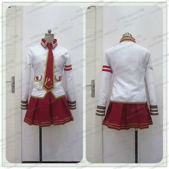 Lovelive Love Live Nico Uniform Dress Outfit font b Cosplay b font Costumes