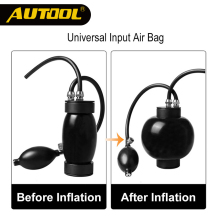 AUTOOL дымовая машина Быстрый Впускной адаптер впускного пузыря для детектора утечки дыма SDT206 диагностический инструмент Подушка безопасности аксессуар