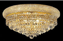 Phube Lighting Empire Gold Crystal Ceiling Light Luxury K9 Crystal Ceiling Lamp Lighting Lustre Free Shipping(China)