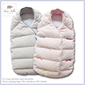 Brand100%Cotton baby boy girl clothing newborn infant baby girl boy down sleeping bag winter bed sleepsack70%Down 30%Feather