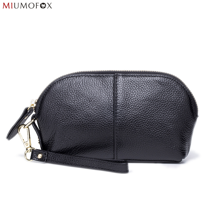 Vintage Bags Retro Clutches Cowhide Genuine Leather Shell Bag Day Clutch Women Small Handbags For Cell Phone Ladies Purse