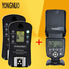 YONGNUO YN 560 IV YN560 Wireless TTL HSS Master Radio Flash Speedlite 2pcs RF 605C RF605