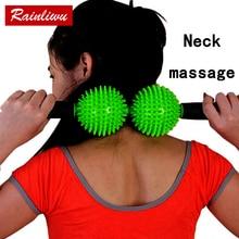 Neck massage ball Body Massage roller Go pain Fitness Stick Health Care Massage