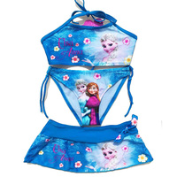 2017 New High Quality Summer Baby Girls Elsa Anna Clothes Suit Girls Clothing Sets