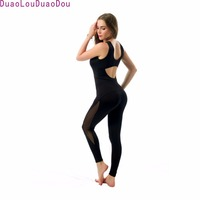 Hot Sale Women Sexy One Piece Yo Ga Pants Sleeveless Vest Fitness Dance Pants Workout Jumpsuits