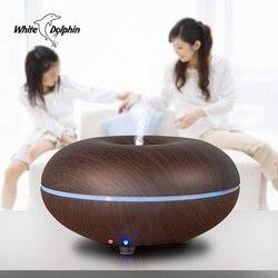 Aromat ultradźwiękowy nawilżacz powietrza OLEJEK ETERYCZNY dyfuzor 7 LED zmieniające kolor światła Mist ekspres zamgławiacz Aroma dyfuzor aromaterapia