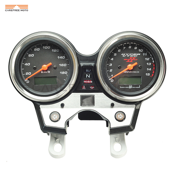 1 uds, tacómetro de motocicleta, velocímetro, medidor de velocidad de motocicleta, medidor de kilometraje, funda para HONDA CB400 SF VTEC II 2002-2003