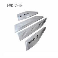 Car Styling ABS Car Body Below Side Moulding Strip Decorative Cover Trim fit For Toyota C HR CHR 2016 2017