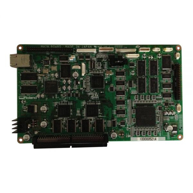Original Roland Printer Mainboard 6702029000 For XJ-640 roland vp 540 rs 640 vp 300 sheet rotary disk slit 360lpi 1000002162 printer parts