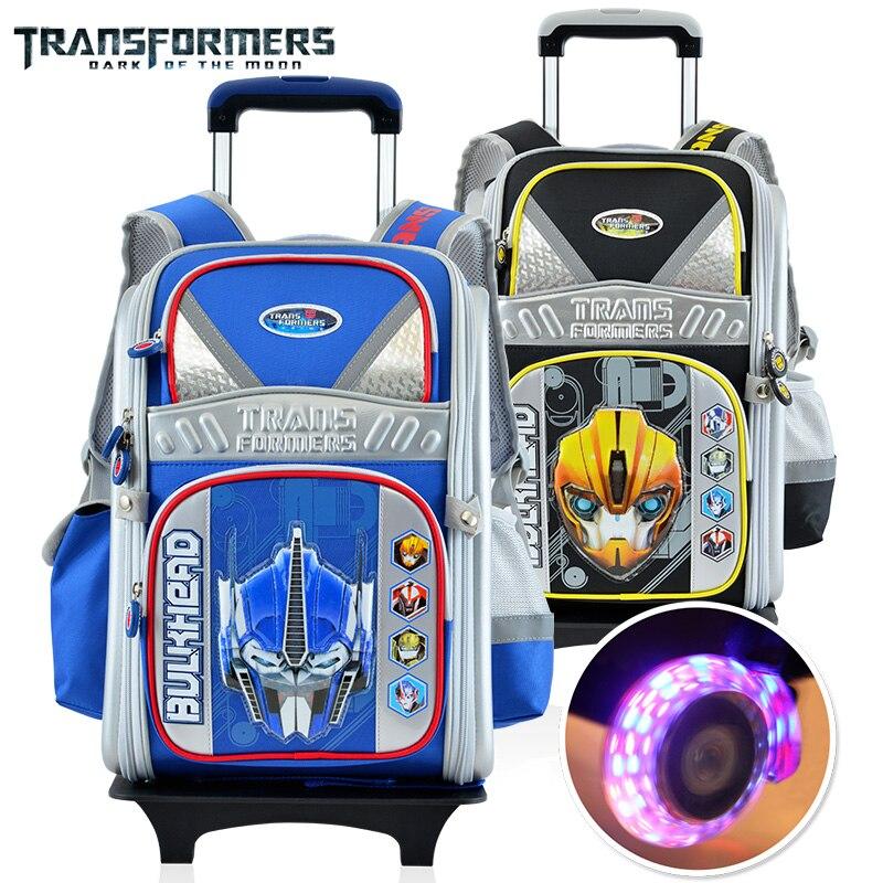 "TRANSFORMERS AUTO BOTS ROLL OUT Kids Boys School 16/"" Backpack Book Bag Mochila"