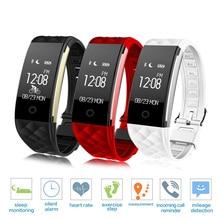 купить Wristband S2 Bluetooth Smart Band Waterproof Touch Screen Sports Bracelet Heart Rate Pedometer Sleep Fitness Tracker Smartband дешево