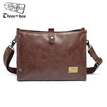 Man Fashion PU Leather Bag Men Messenger Business Men's Briefcase Designer Handbags High Quality Casual Shoulder Bags