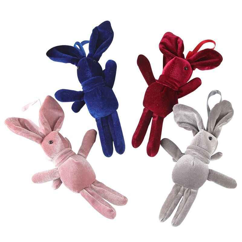 Милый мультфильм плюшевая ткань кролик кукла подвеска на рюкзак подвесной декор детская коляска навес для детской кроватки декор украшения