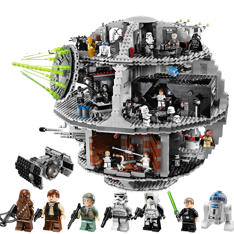 BELA LEPIN 05035 Death 3804pcs Star Building Wars Block lepin 05035 star wars death star limited edition model building kit millenniums blocks puzzle compatible legoed 75159