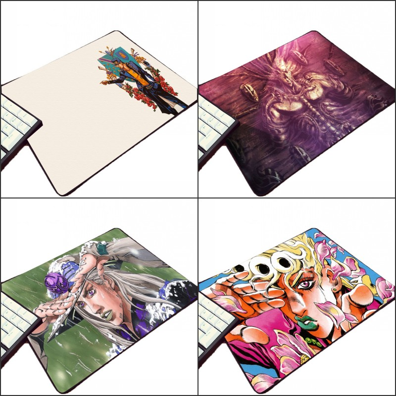 Mairuige Beautiful Art Printed Giorno Giovanna JoJo's Bizarre Adventure Aniamtion Mousepad Cool Diy Pc Game Gaming Mouse Pad image