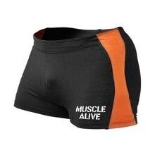 Мужские шорты Men Bodybuilding Shorts Fitness