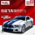 Ford Mustang GT 1:24 Maisto Modelo de Coche modelos de automóviles de Aleación de Simulación de Need for Speed Fast & Furious genuino Coleccionables Juguete