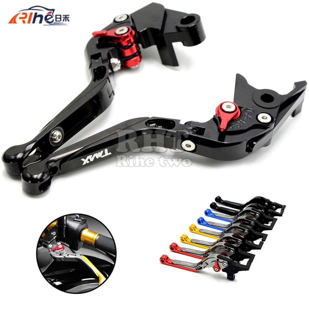 Motorbike Accessories foldable&adjustable Motorcycle Brake Clutch Lever for YAMAHA T-MAX530 T MAX530 TMAX XP530 TMAX XP500