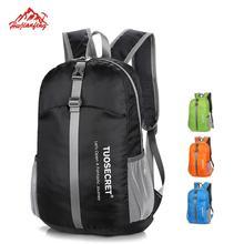 Outdoor Sport Foldable Backpack Lightweight Nylon Waterproof Backpack Folding bag Ultralight Pack for Women Men Travel Hiking цена
