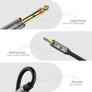 Image 5 - Qgeem Jack 3.5Mm Naar 6.35Mm * 2 Adapter Audio Kabel Voor Mixer Versterker Luidspreker Vergulde 6.5Mm 3.5 Jack Splitter Audio Kabel