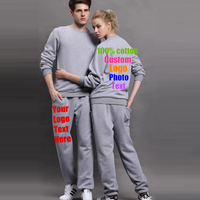 Custom Made Text Logo Photo Design Men Lovers Women Cotton Sweatshirt Team Company Uniform Couples Hoodies