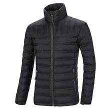 Новый высокого класса Европейской и Американской моды случайные мужские ультра-тонкий воротник куртки Slim Down