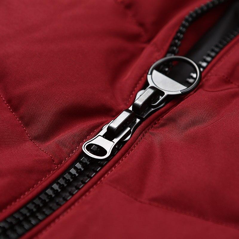 Image 5 - BOSIDENG women down coat winter thick down jacket mid long real  fur collar thick parka ribbons pocket B70141058Down Coats   -