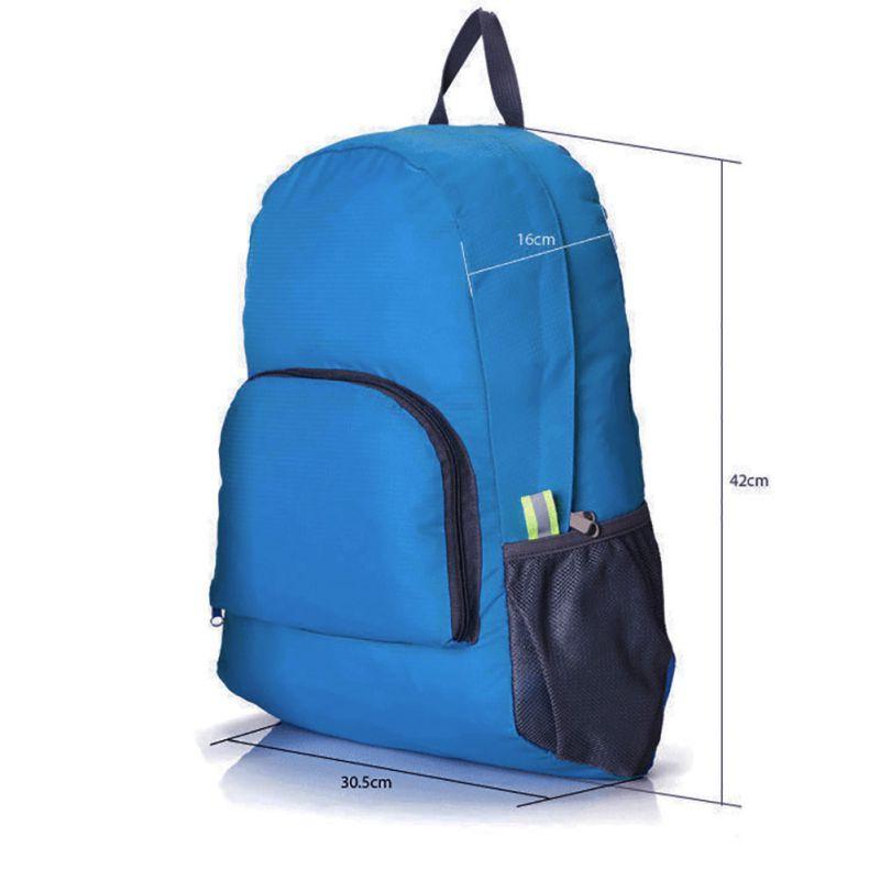 Zero Burden Nylon Daily Traveling Bags Outdoor Sports Backpack for Men Women Shopping Camping Hiking