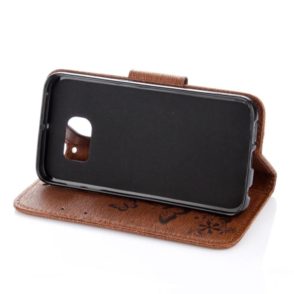 FULAIKATE Butterfly Flip Leather Case για Samsung Galaxy S7 Edge - Ανταλλακτικά και αξεσουάρ κινητών τηλεφώνων - Φωτογραφία 5