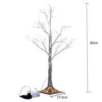 New 1 Pcs Simulation Tree LED Lights Decoration Christmas Party Home Festival Indoor Outdoor NE