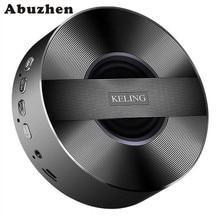 Abuzhen Динамик Беспроводной стерео мини-Bluetooth Динамик keling A5 Портативный Беспроводной Динамик Поддержка 32 ГБ карты памяти для телефона