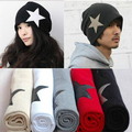 men's ladies' fashion star knitted hat Beanies Cap Autumn Spring Winter lover unisex multi color option wholesale
